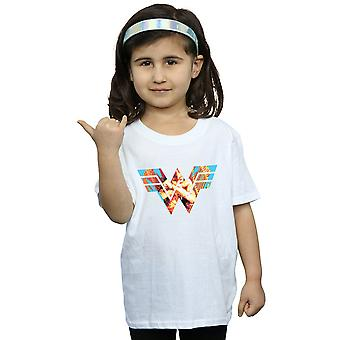 DC Comics Girls Wonder Woman 84 Symbol Crossed Arms T-Shirt