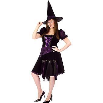 Lilla Witch voksen addisjonstegn størrelse drakt