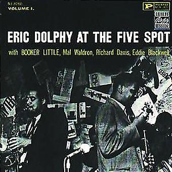 Eric Dolphy-på Five Spot nr 1 [CD] USA import