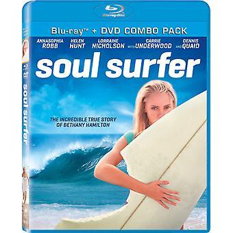 Soul Surfer [BLU-RAY] Yhdysvallat tuoda