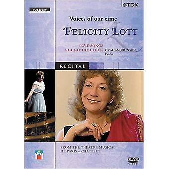Felicity Lott - Voices of Our Time [DVD] USA import