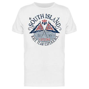 South Island Race Team Exp Tee Miehet's -Kuva Shutterstock