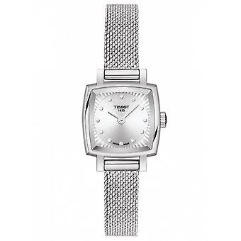 Tissot Watches T058.109.11.036.00 Lovely Square Silver Stainless Steel Ladies Watch