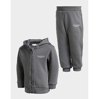 Nieuwe Mckenzie Kids' Micro Essential Full Zip Tracksuit Grey