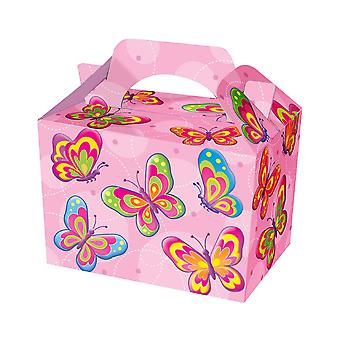 Single Butterfly Card Party Food or Treat Box