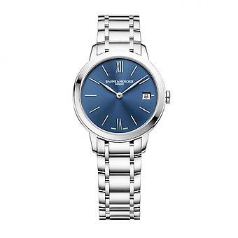 Baume & Mercier BM0A10477 Classima Blue Dial Wristwatch