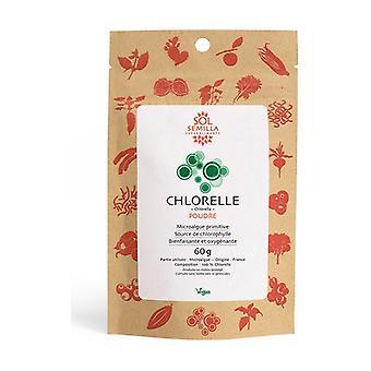 Organic raw chlorella powder 60 g of powder
