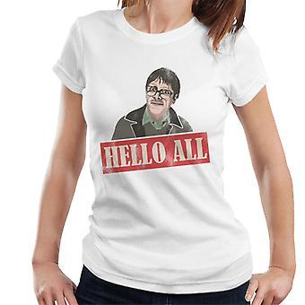 Friday Night Dinner Jim Hello All Women's T-Shirt