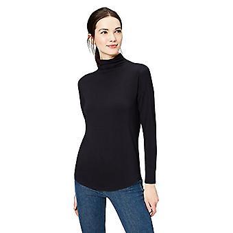 Marka - Daily Ritual Women&s Jersey Koszulka z długim rękawem, czarna, mała