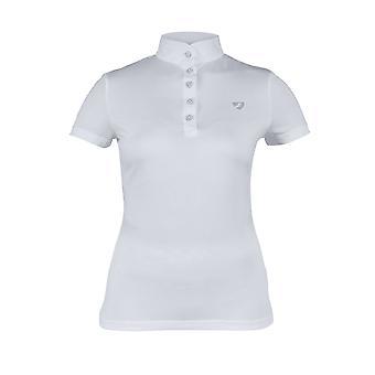Shires Aubrion Monmouth camiseta de la serie de mujeres - blanco