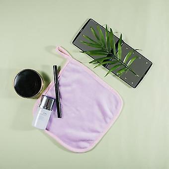 Reusable Facial Makeup Removal Towel Microfiber Cloth Pads Wipe Face Cleaner Tool