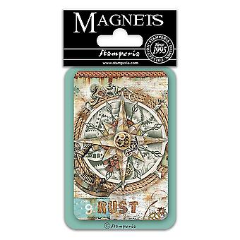 Stamperia Compass 8x5.5cm Magnet