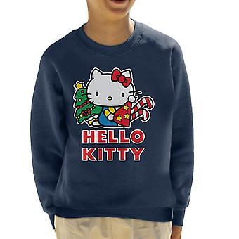 Hello Kitty Juhlava Star Joulu Hattu Kid&s Collegepaita