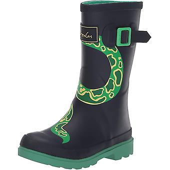 Joules Women's Shoes Jnr welly print Closed Toe Mid-Calf Cold Weather Boots
