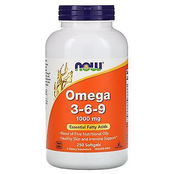 Ora Alimenti, Omega 3-6-9, 1.000 mg, 250 Softgel