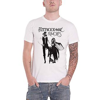 Fleetwood Mac T Shirt Rumours Band Logo new Official Mens White