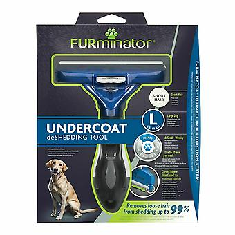 Furminator Undercoat Deshedding Tool - Large (Short Hair Dog)