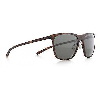 Sunglasses Unisex Solid Brown/Grey (solid-002)