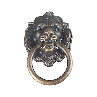 10PCS Metal Pull Ring Antique Style Cabinet Pull Green Bronze