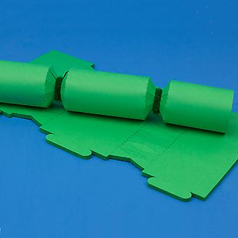 12 Emerald Green Make & Fill Your Own DIY Recycleable Christmas Cracker Boards