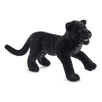 Hand Puppet - Folkmanis - Panther Black New Soft Doll Plush 3155