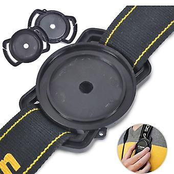 Universal Anti-losing Camera-lens Cap-holder Keeper Buckle On