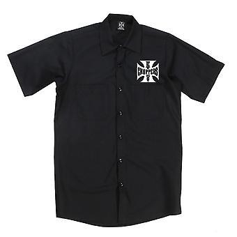 West Coast choppers mens short-sleeved shirt OG