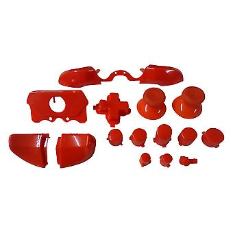 Full button set mod kit for xbox one elite controllers a b x y d-pad triggers replacement - red | zedlabz