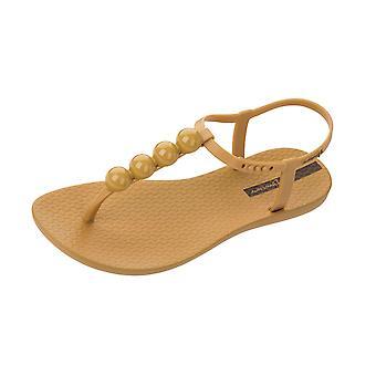 Ipanema charm sandal 21 Womens Beach flip flops/sandaler-Amber Pebble