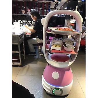 تخصيص فندق مطعم خدمة التسليم الإدارية النادل الذكية صوت روبوت