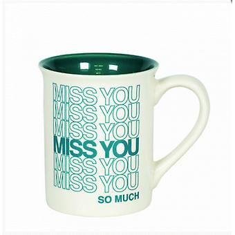Miss You Type Mug