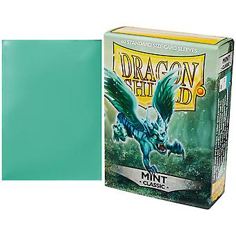 Dragon Shield Sleeves Classic - Mint 60 Count In Box (Pack Of 10)