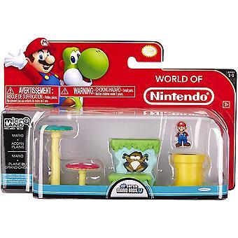 Super Mario 3-Pack Micro Land Figuur en Land Pack