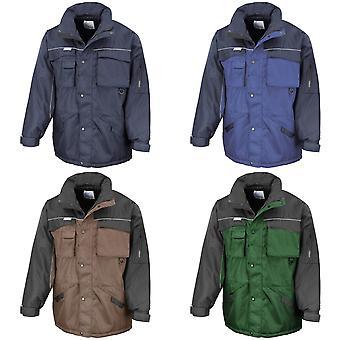 Result Mens Workwear Heavy Duty Water Repellent Windproof Combo Coat