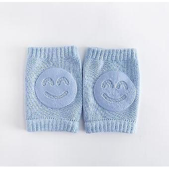 Baby Stockings Elbow Pad, Toddler Crawling Knee Child Smiley Face Leg Warmers
