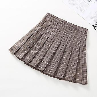 Girls Pleated Skirt, Plaid Princess Skirts Clothes