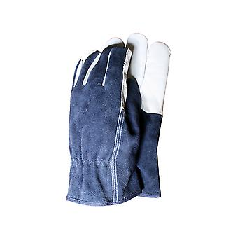 Town & Country TGL418L Premium Leather & Suede Mens Gloves (Large) T/CTGL418L