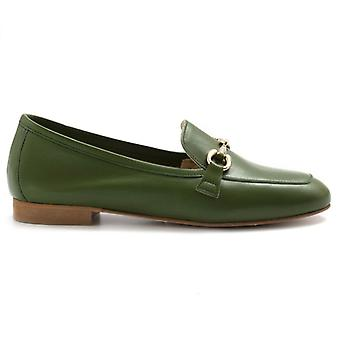 Moccassist Woman Nouvelle Femme Verde With Clamp