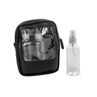 Fleming Toilette Bag In-flight I läder Och ballistiska Nylon Cordura®