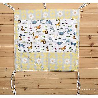 Baby Cot Bed Hanging Storage Bag, Crib Organizer Toy, Diaper Nappy Pocket