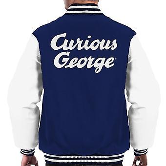 Neugierige George Big Logo Men's Varsity Jacke