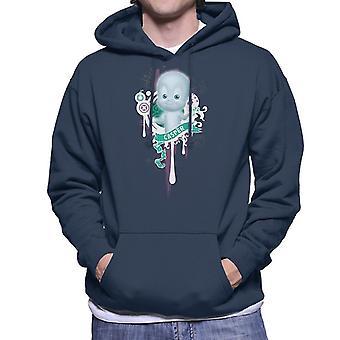 Casper The Friendly Ghost School Emblem Men's Hooded Sweatshirt