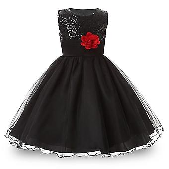 Costume Kids Cotton Teenagers Dress, Wedding Party Princess Dresses