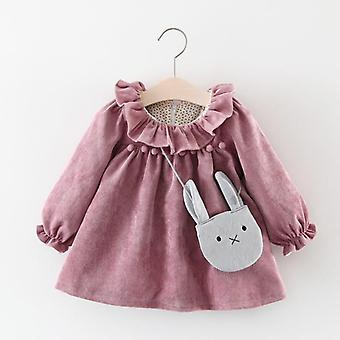 Long Sleeve Autumn Winter, Baby Princess Dresses