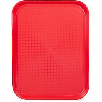Zásobník na bufet 14x18, červený
