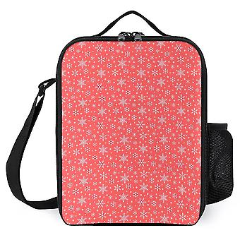 Christmas Pattern Mini Dot Printed Lunch Bags Cooler Lunch Boxes