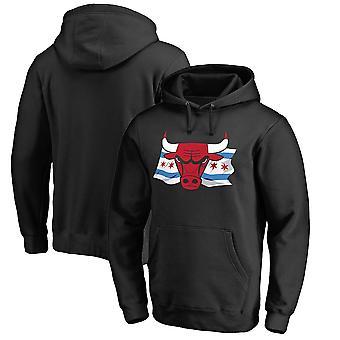 Chicago Bulls Löysä Pullover Huppari WY005