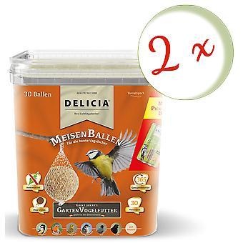 Sparset: 2 x FRUNOL DELICIA® Delicia® TitBallsen, 30 kpl