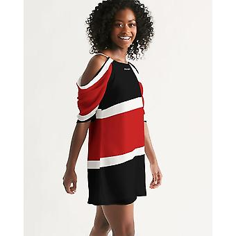 Women's Open Shoulder A-line Dress
