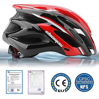 Shinmax Bicycle Helmet with Safety LED Light,CE Certified
